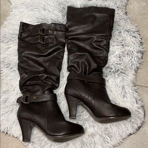 Rampage Eleanor Heeled Boots